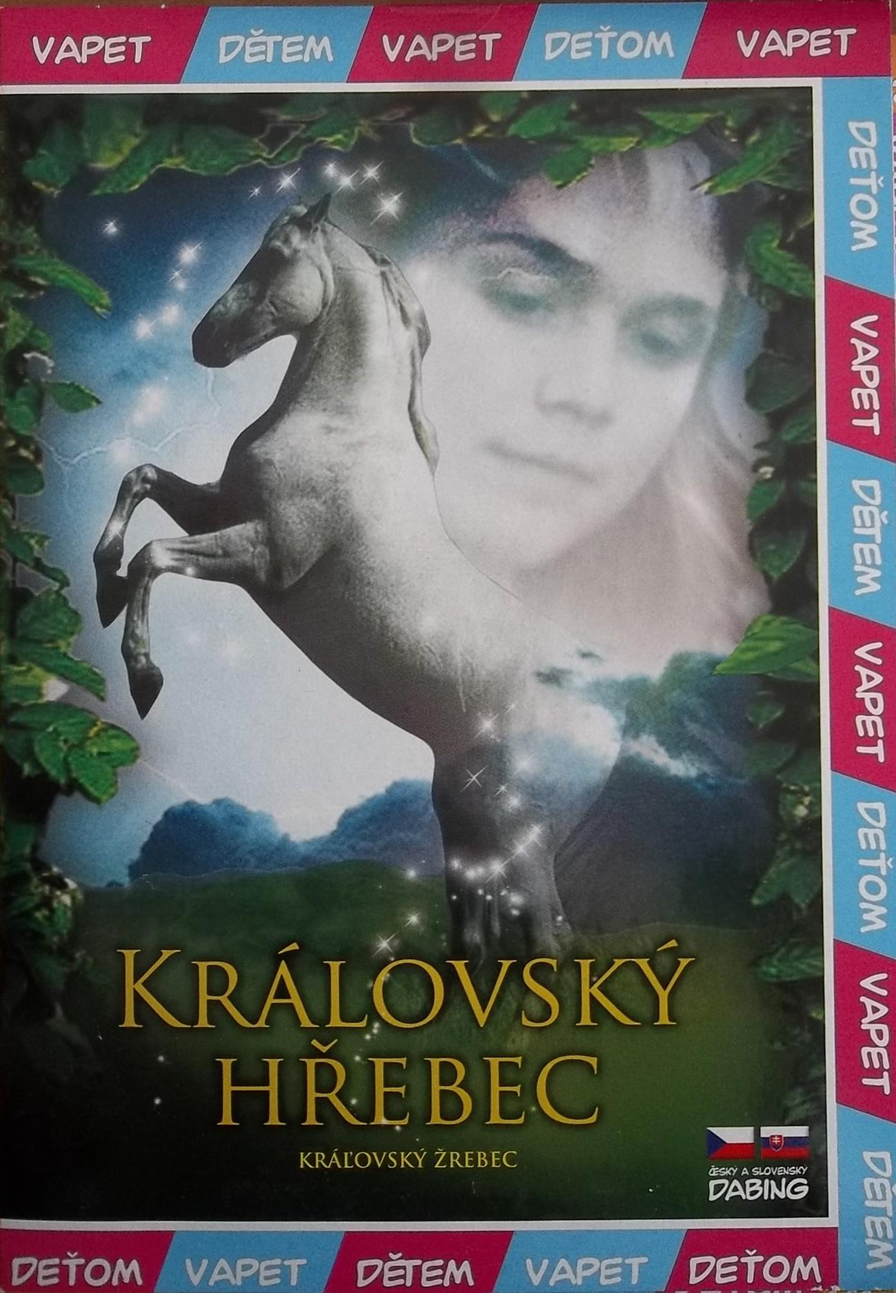 Královský hřebec - DVD pošetka