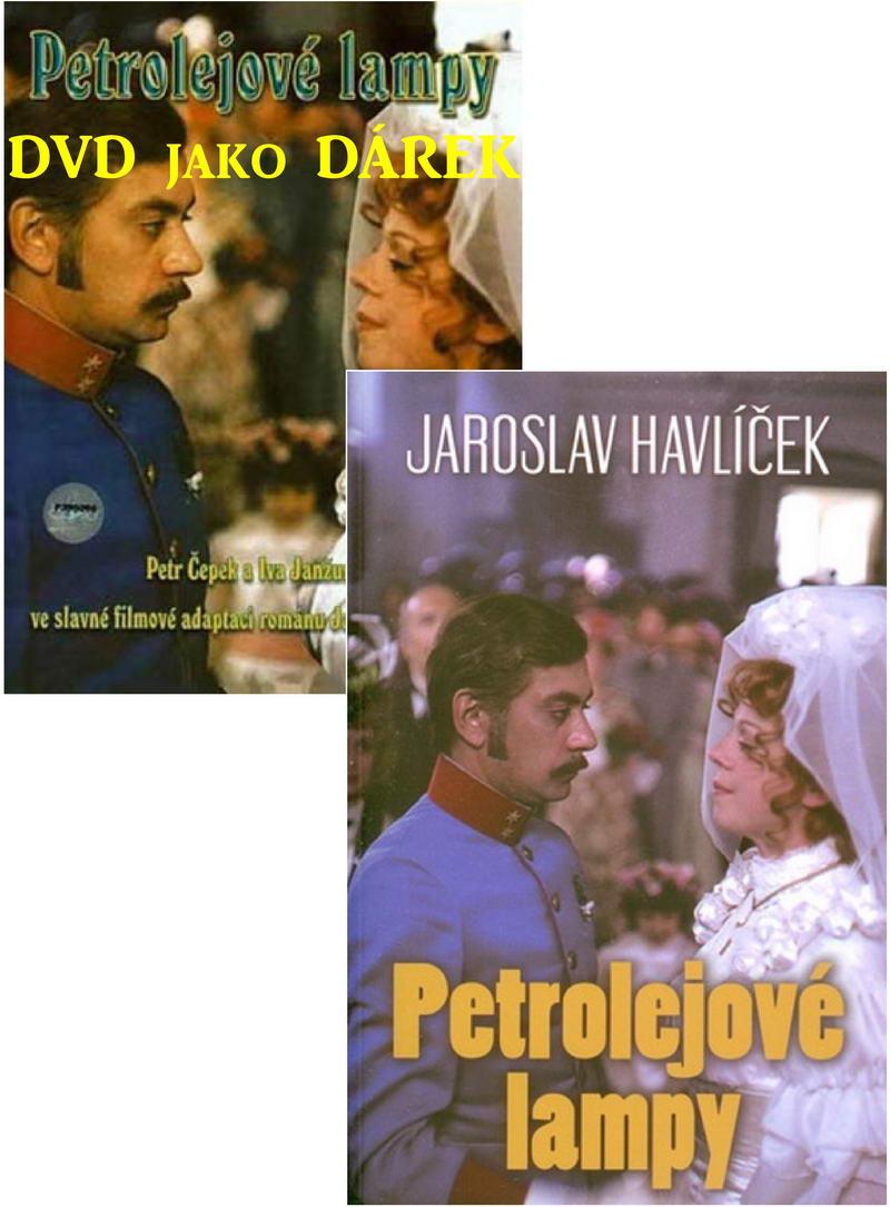 Kolekce Petrolejové lampy kniha + DVD dárek
