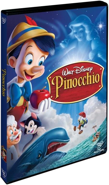 Pinocchio ( plast ) DVD
