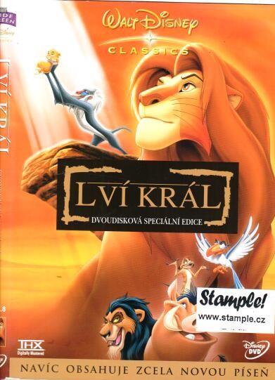 Lví král- dvoudisková edice