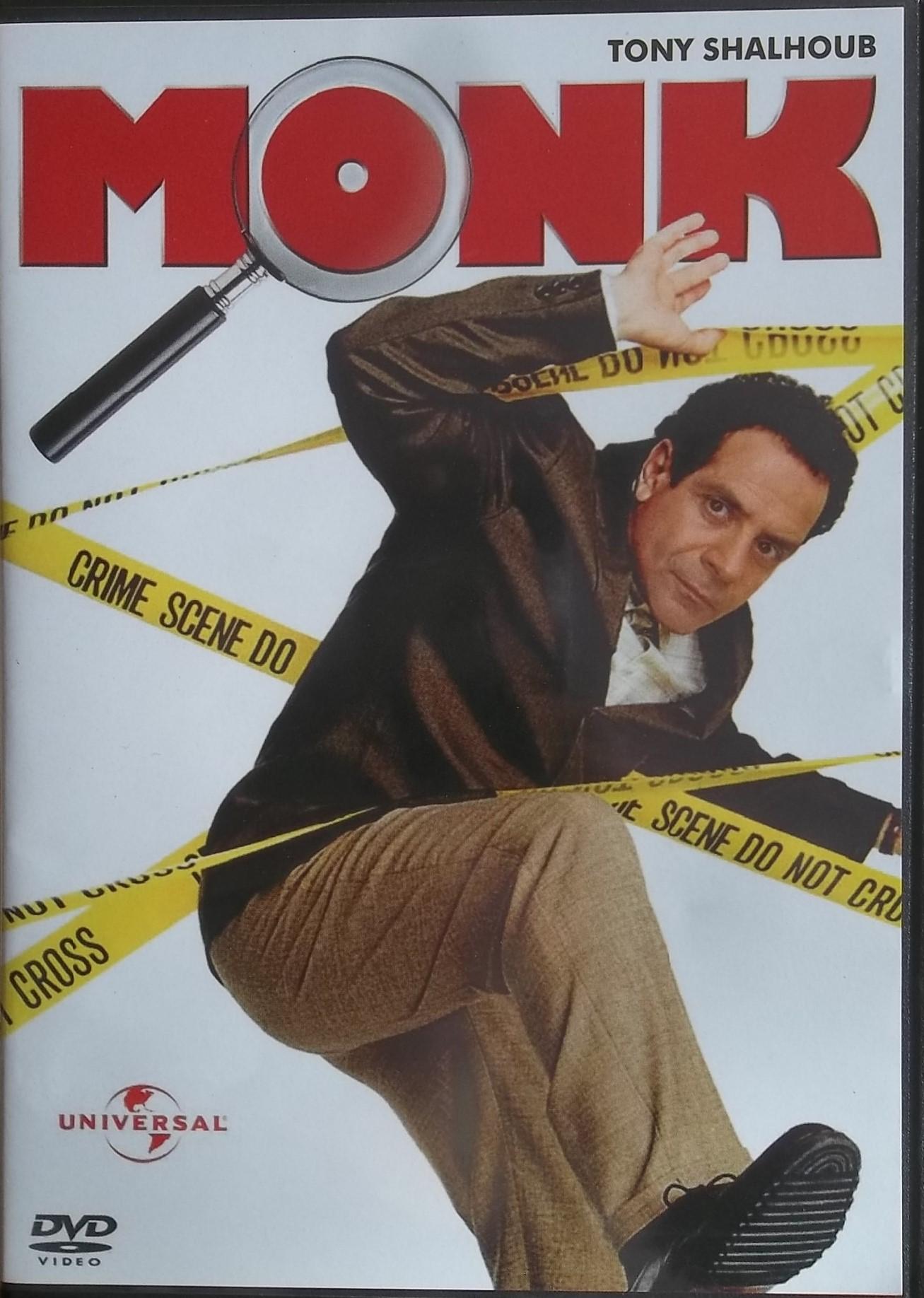 Monk pilotní film - DVD