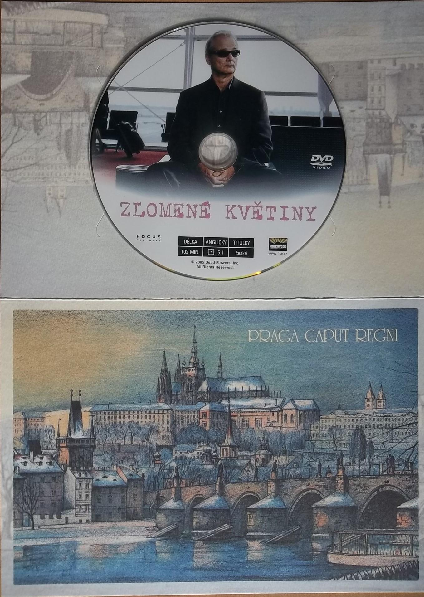 Zlomené květiny (dárková obálka) - DVD