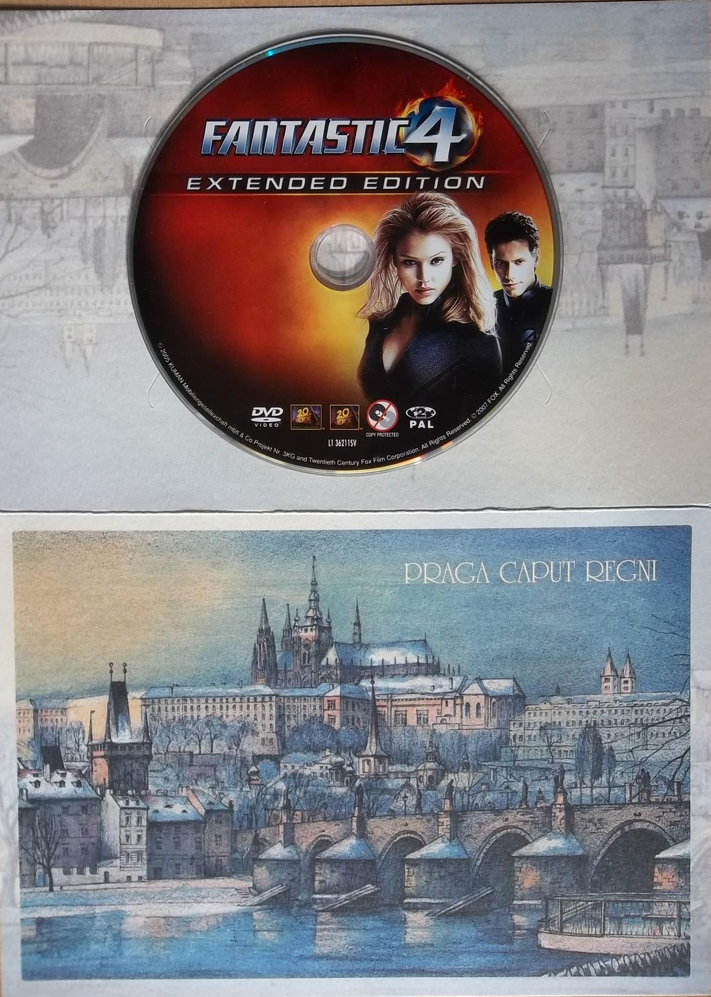 Fantastická čtyřka (dárková obálka) - DVD