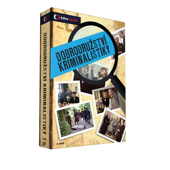Dobrodružství kriminalistiky - 8 DVD