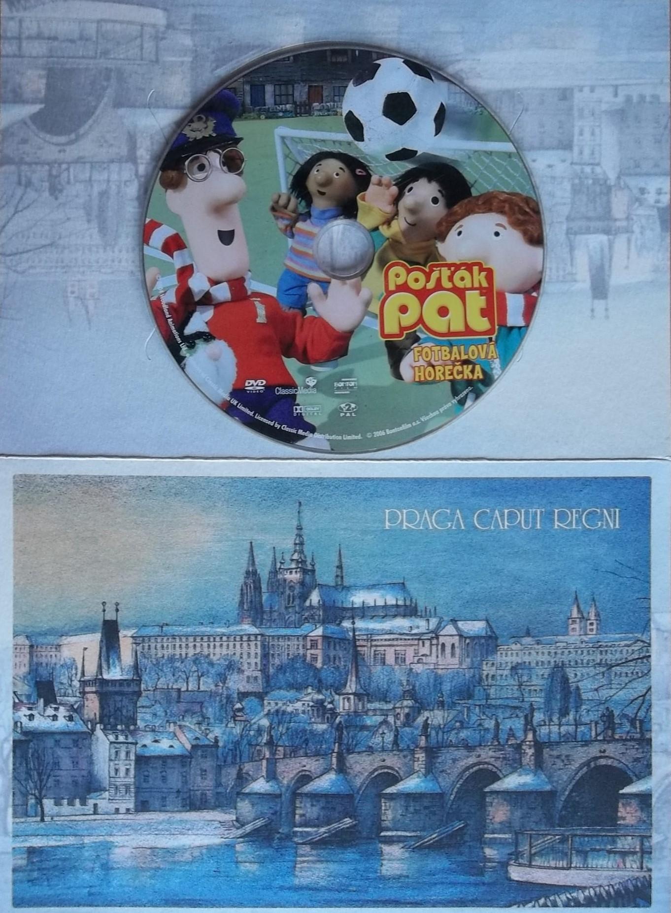 Pošťák Pat - Fotbalová horečka (dárková obálka) - DVD