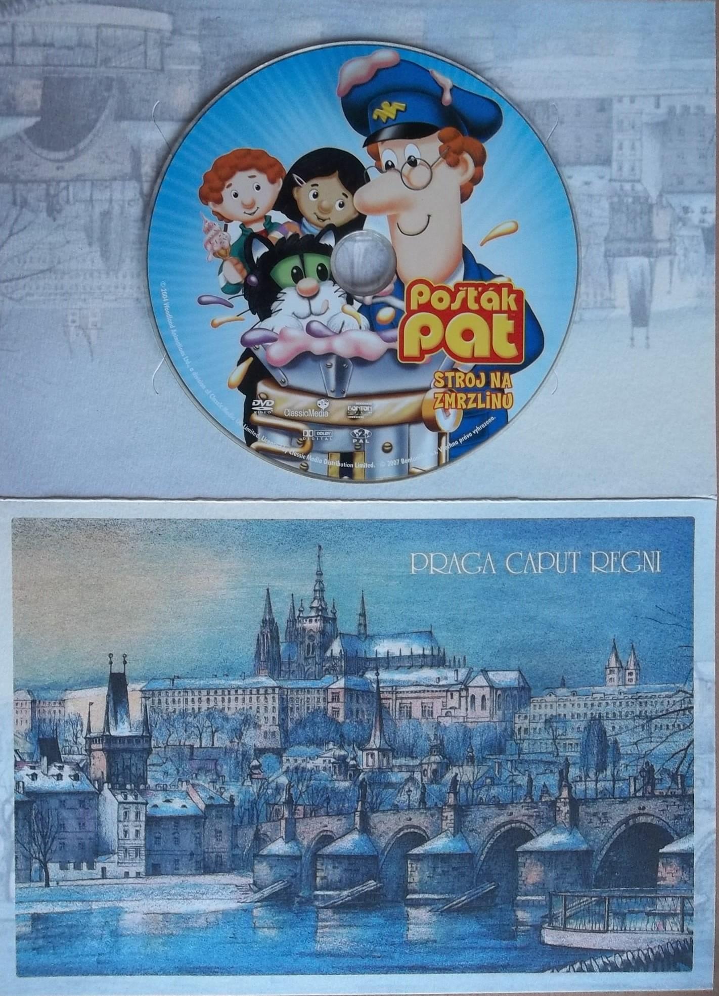 Pošťák Pat - Stroj na zmrzlinu (dárková obálka) - DVD
