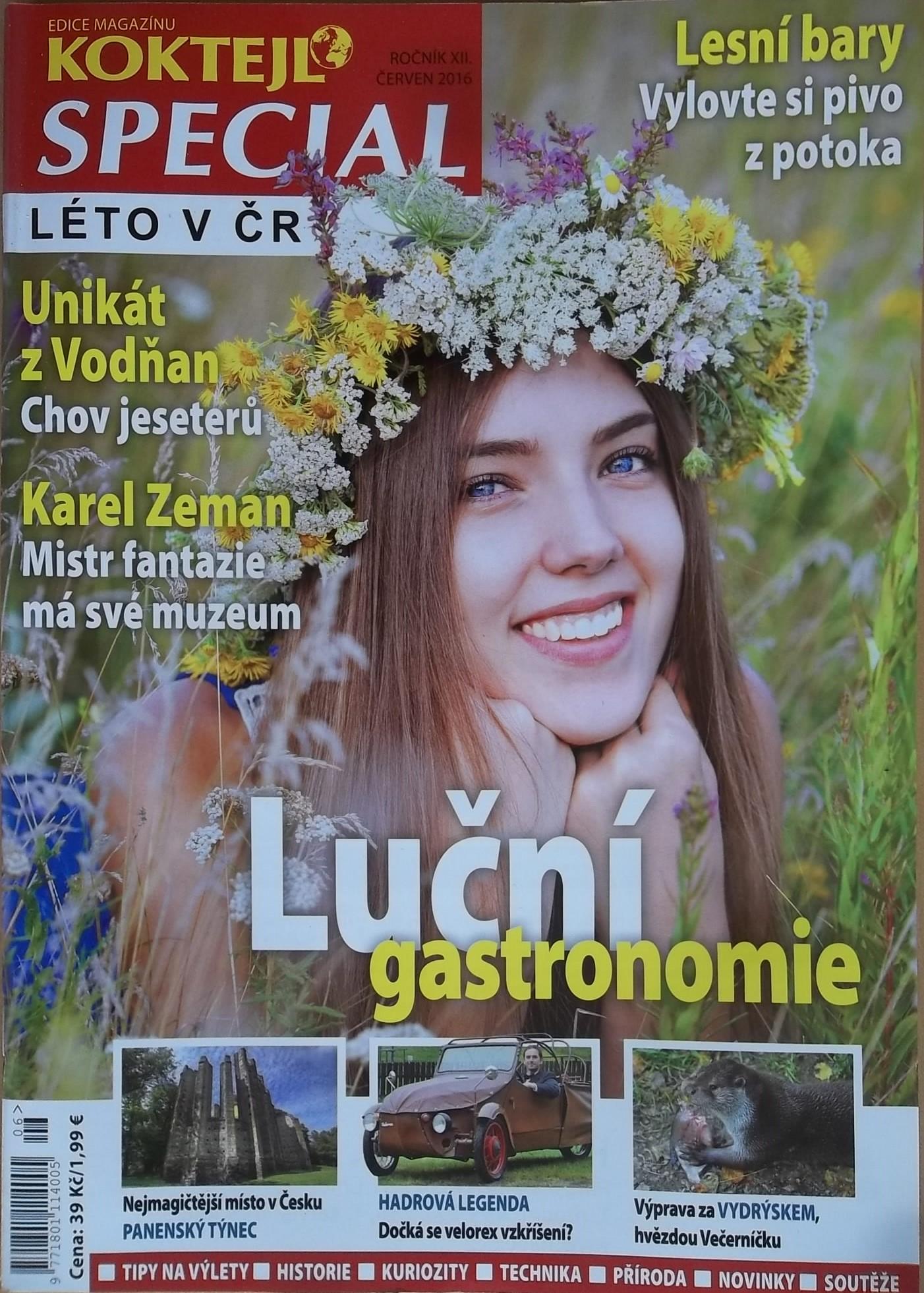 Koktejl Speciál Léto v ČR - ročník XII. červen 2016