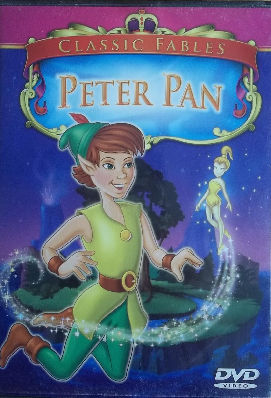 Peter Pan - AJ - DVD