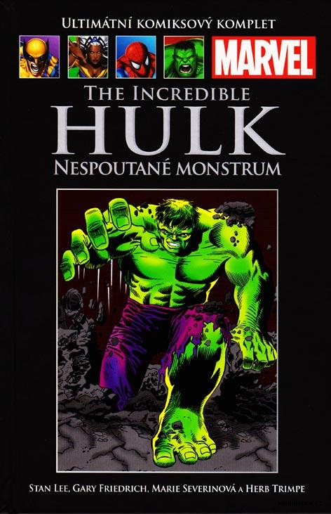 Ultimátní komiksový komplet - The Incredible Hulk: Nespoutané monstrum (78)