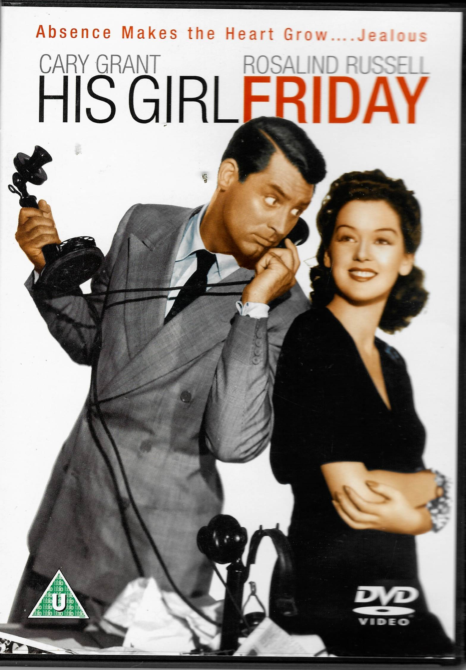 His girl Friday (Jeho Dívka Pátek) - DVD plast