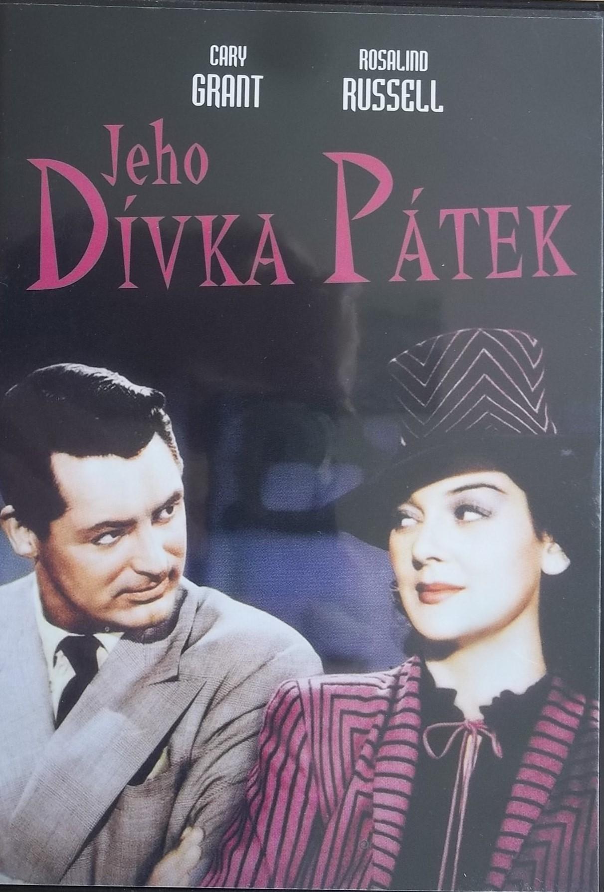 Jeho Dívka Pátek - DVD plast