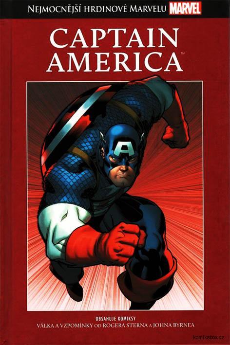 Nejmocnější hrdinové Marvelu (hřbet 6) - Captain America