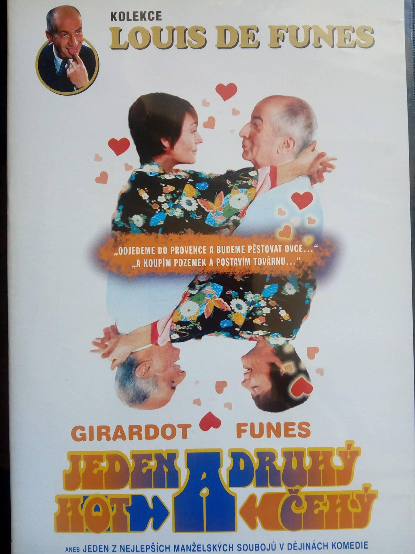 Jeden hot a druhý čehý ( slim/ plast ) - DVD