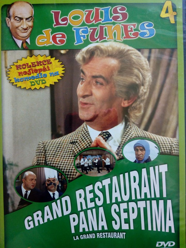 Grand restaurant pana Septima ( slim/ plast ) - DVD