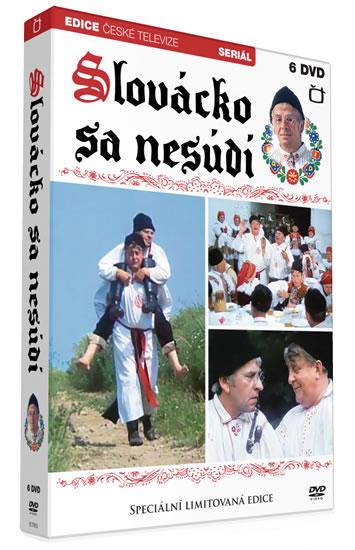 Slovácko sa nesúdí - 6 DVD