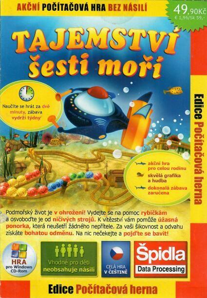 CD-ROM Tajemství šesti moří PC hra