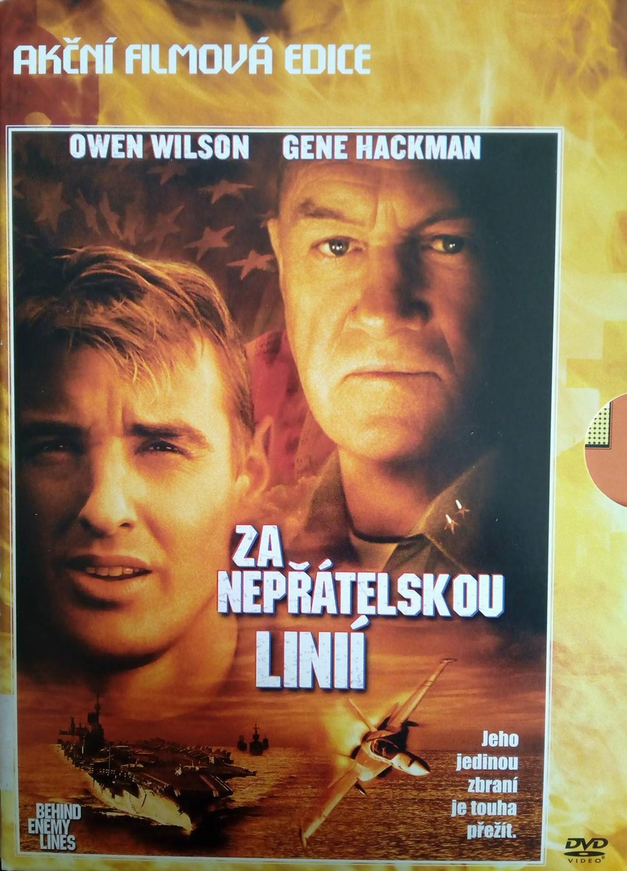 Za nepřátelskou linií - DVD