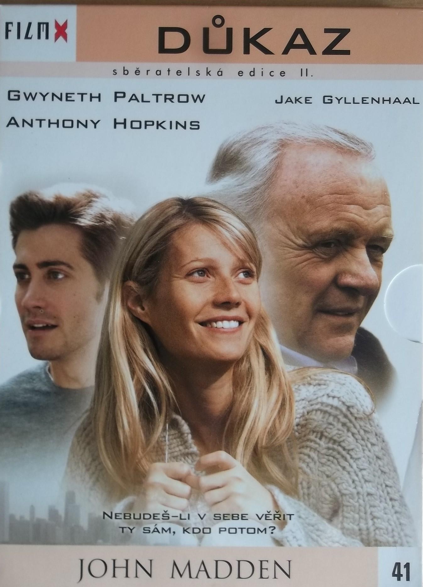 Důkaz - DVD