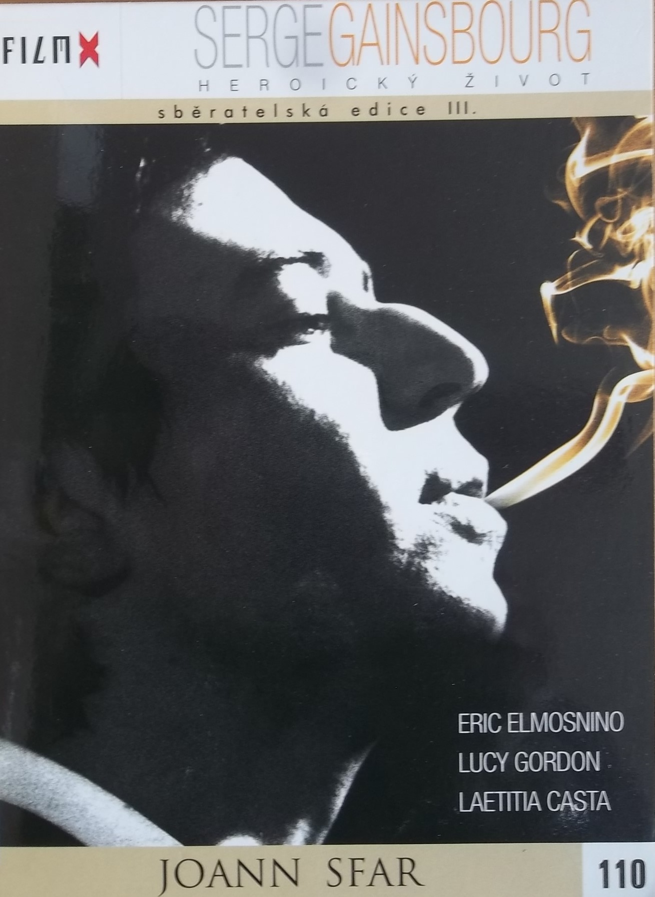 Serge gainsbourg: Heroický život - DVD
