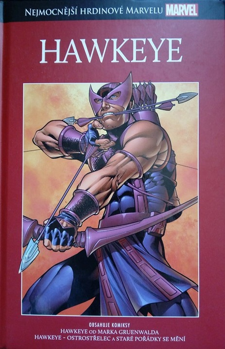 Nejmocnějsí hrdinové Marvelu - Hawkeye (hřbet 4)