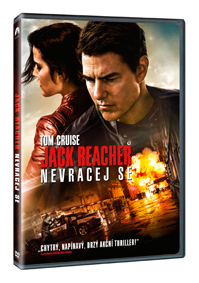 Jack Reacher: Nevracej se DVD
