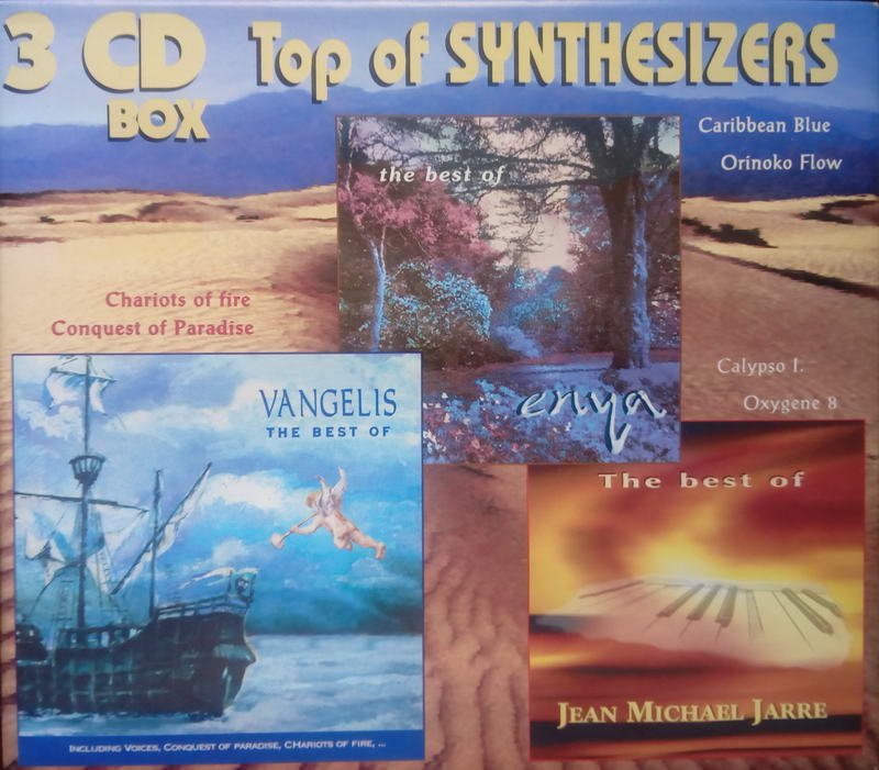 Top o synthesizers - 3CD