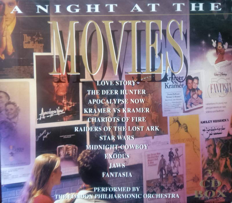 A night at the movies - 3CD