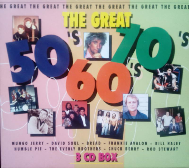 The Great´s 50,60,70 - 3CD