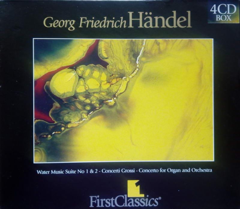 Georg Friedrich Händel - 4CD