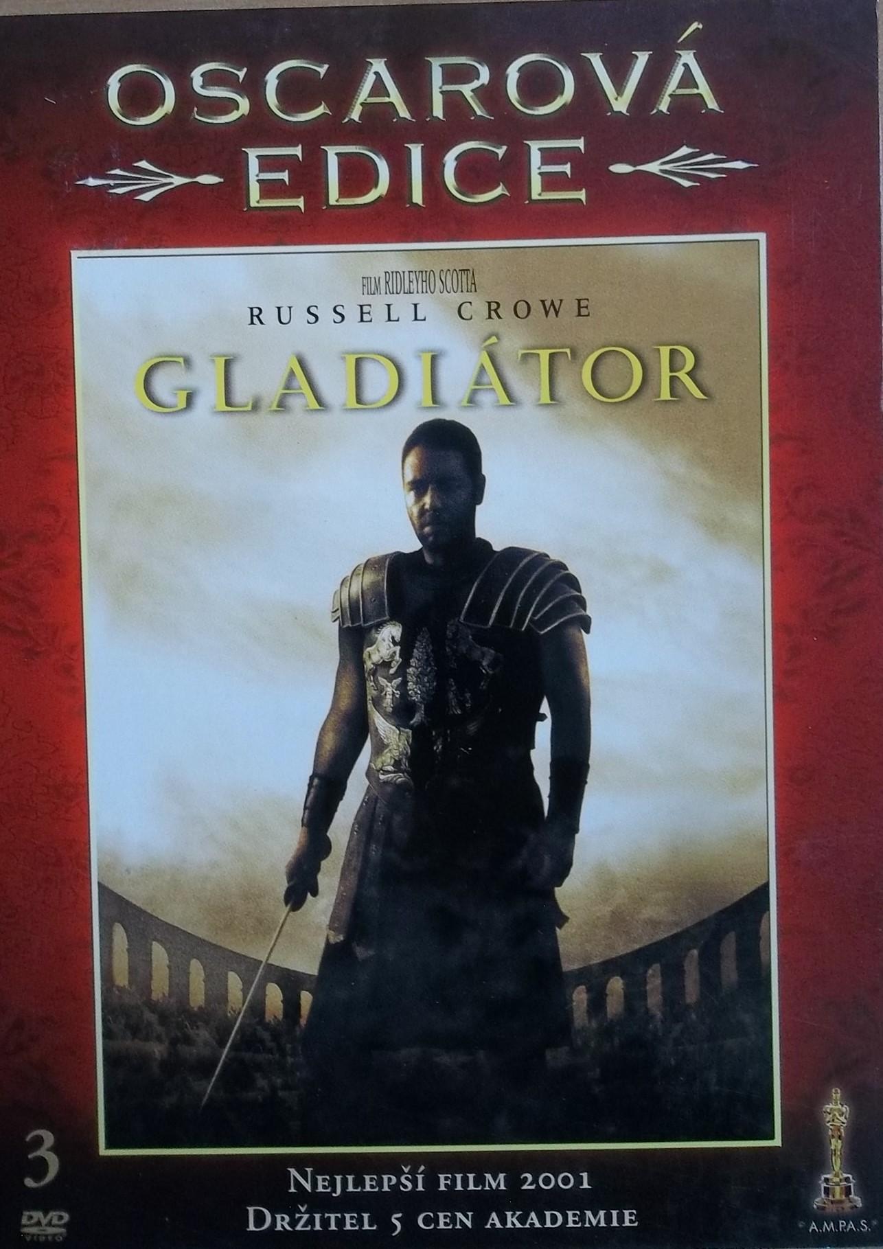 Gladiátor (oscarová edice) - DVD