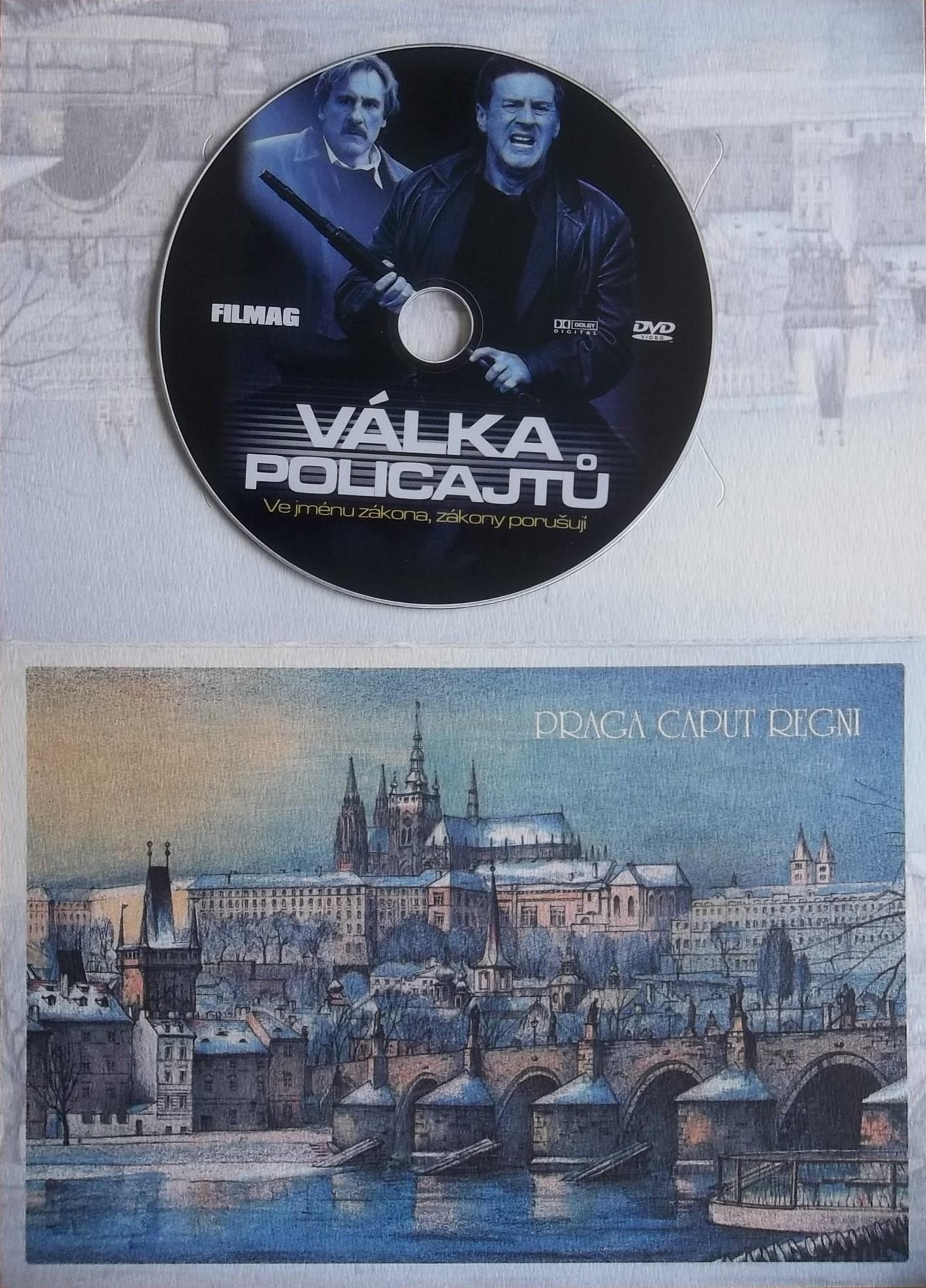 Válka policajtů - dárková obálka - DVD