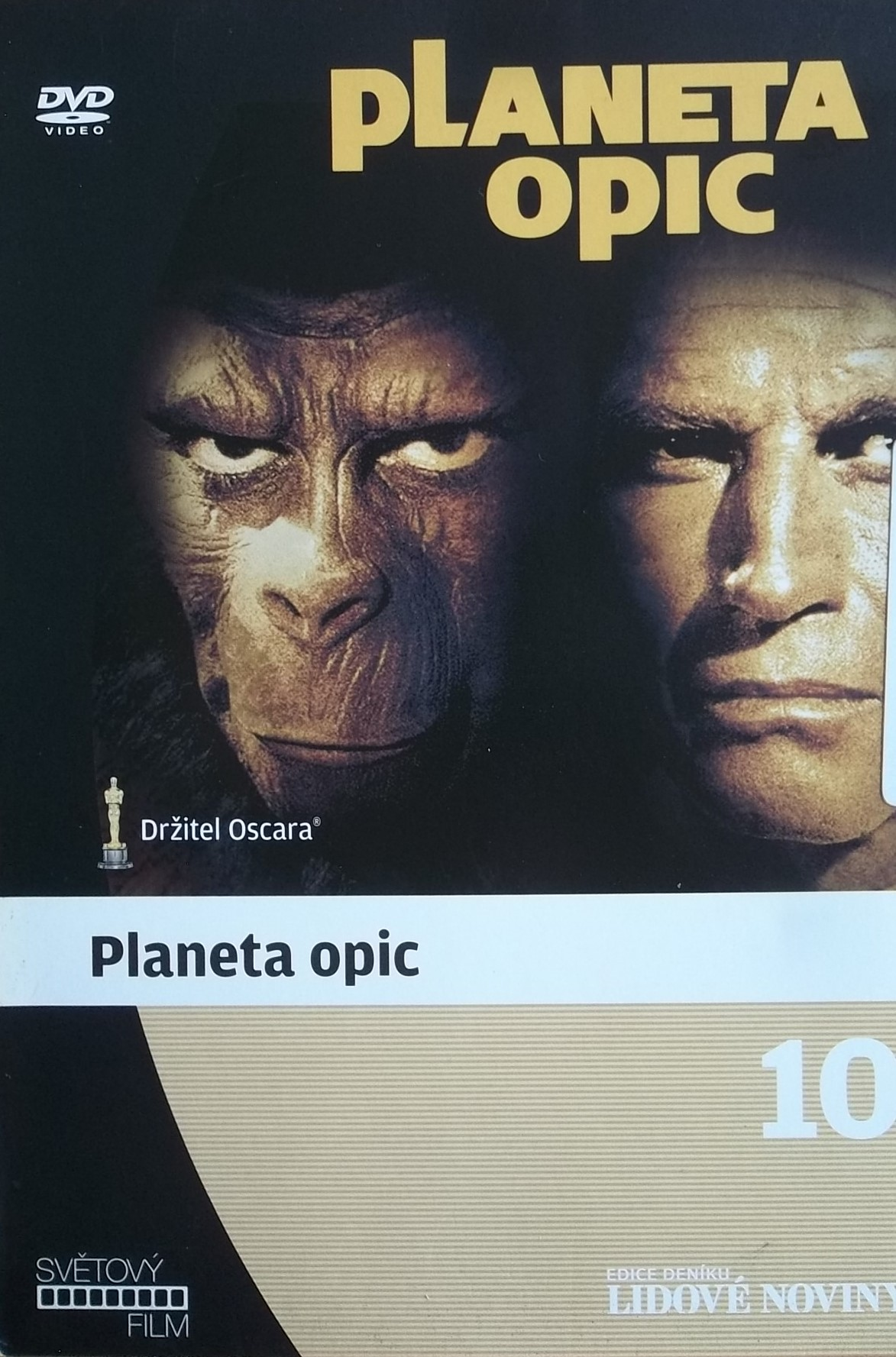 Planeta opic - digipack - DVD