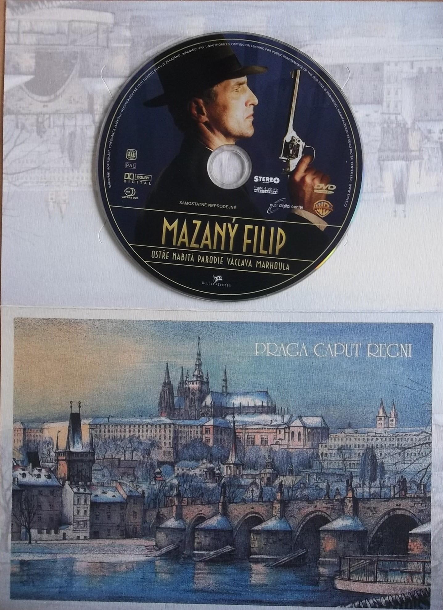 Mazaný Filip (dárková obálka) - DVD