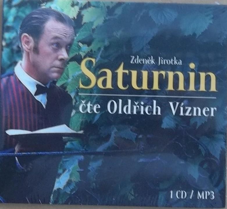 Saturnin čte Oldřich Vízner - CD