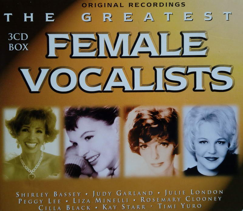 Female Vocalist - 3CD