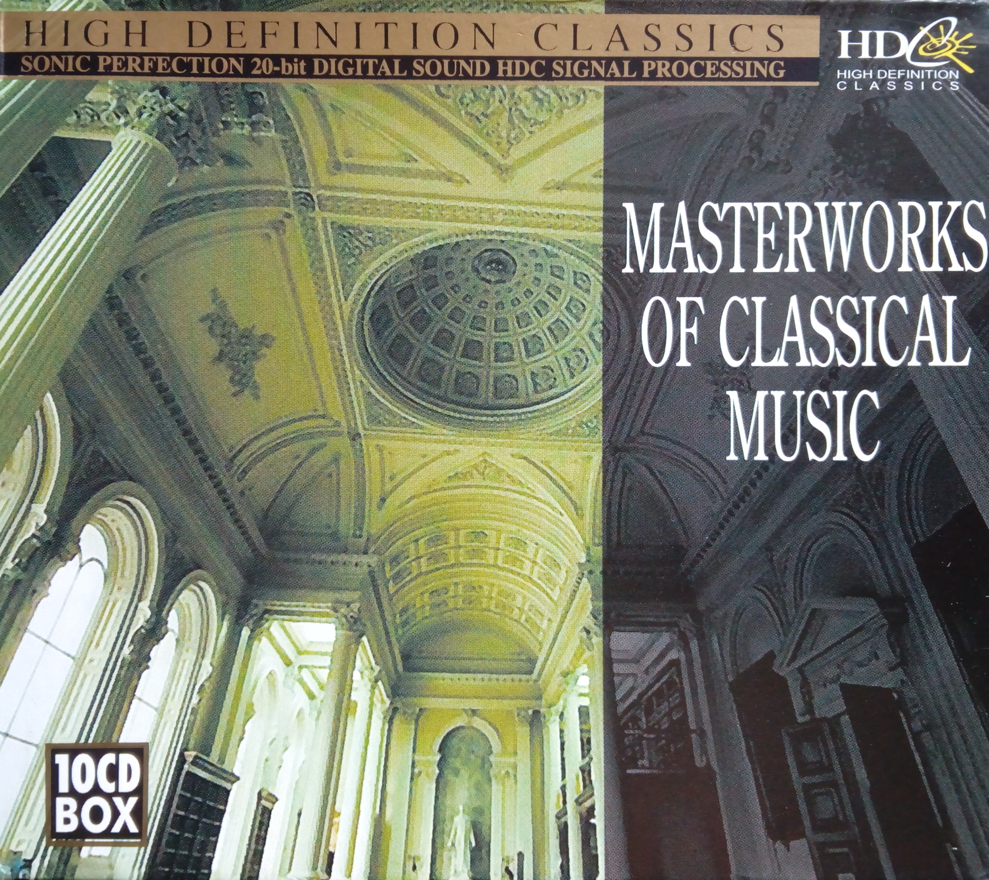 High definition classic - Masterworks of classical music 10CD