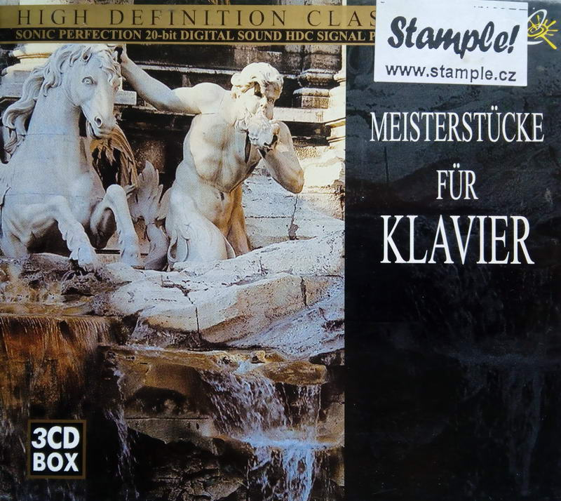 High definition classical - Meisterstucke ur klavier - 3CD