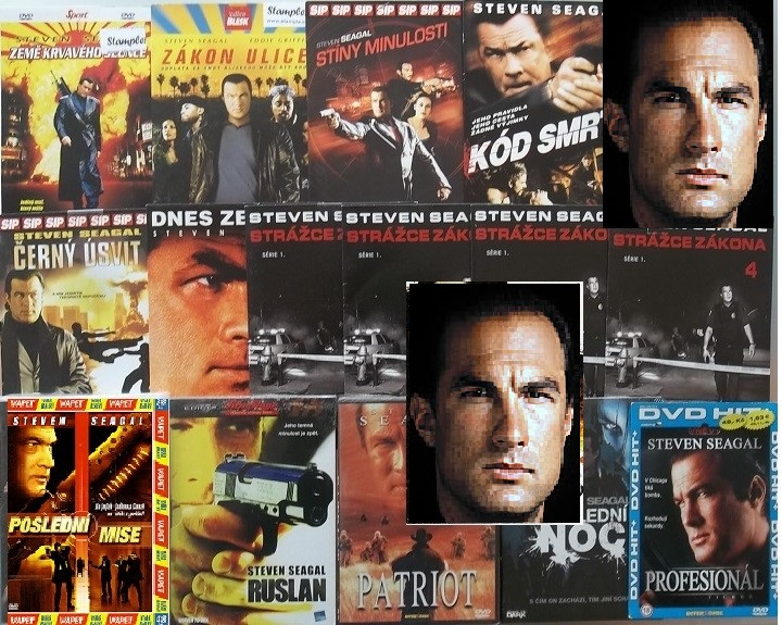 Velká kolekce Steven Seagal - 13 DVD