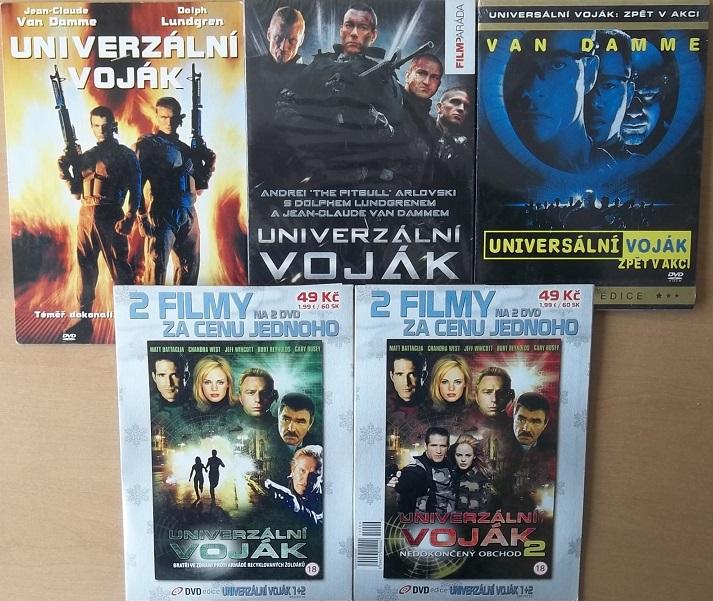 Kolekce Univerzální voják - 5 DVD