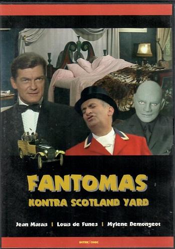 Fantomas kontra Scotland Yard ( plast ) - DVD