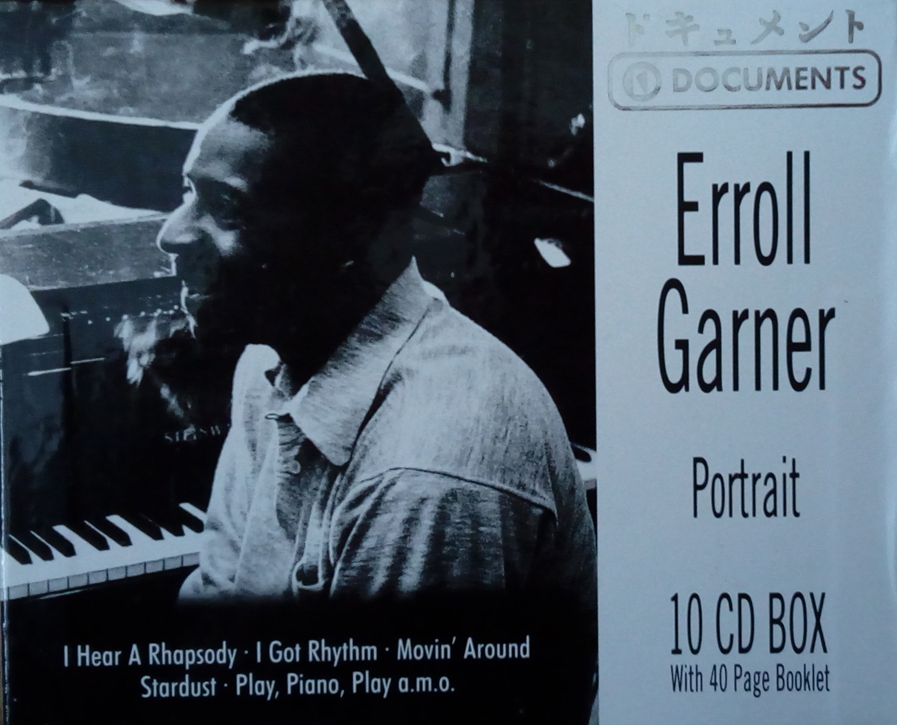 Erroll Garner - Pitrait 10CD