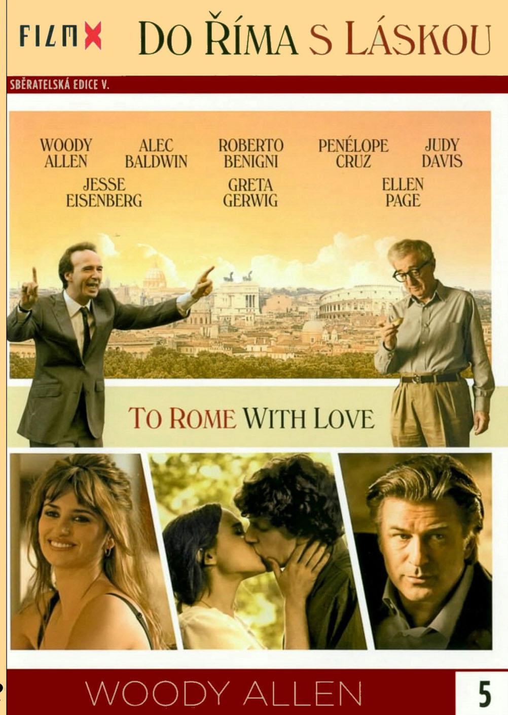 Do Říma s láskou ( slim ) - DVD