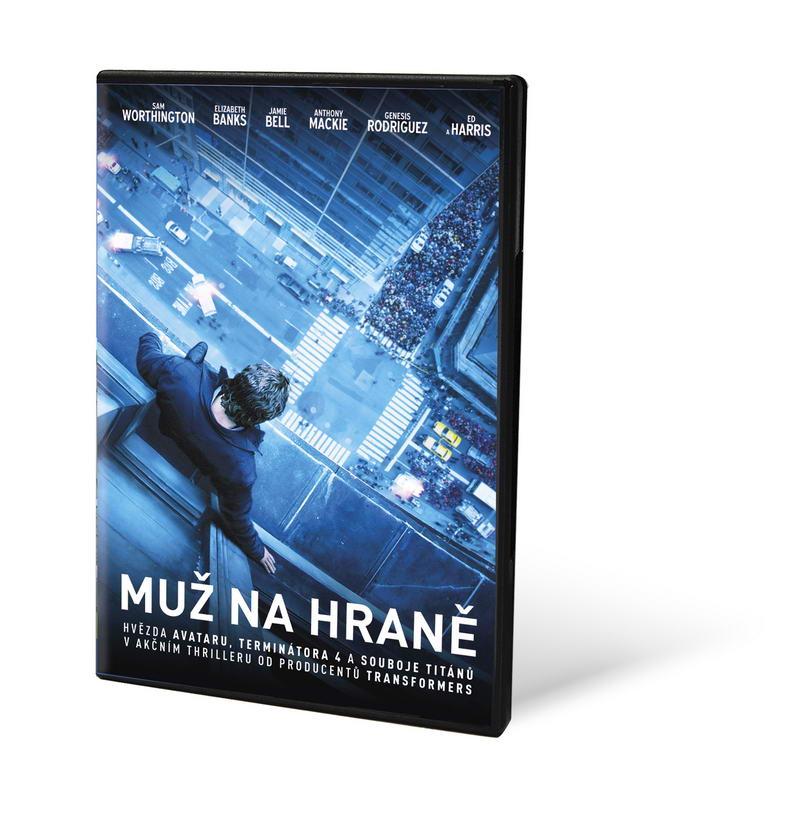 Muž na hraně ( plast ) - DVD