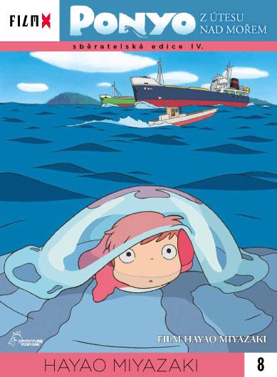 Ponyo z útesu nad mořem ( digipack ) - DVD