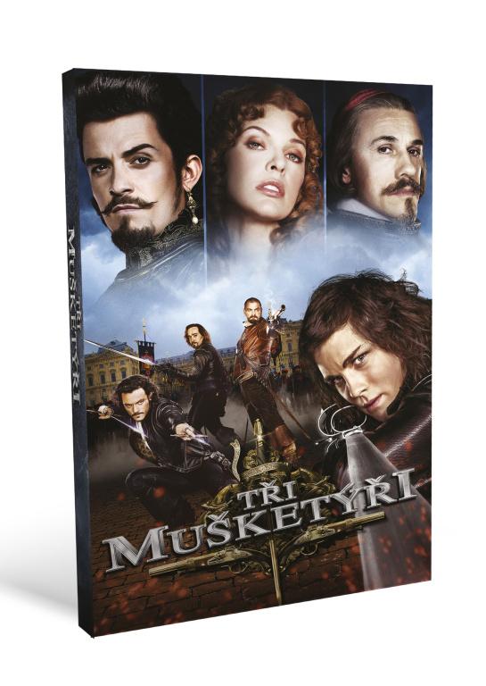 Tři mušketýři ( plast ) - DVD