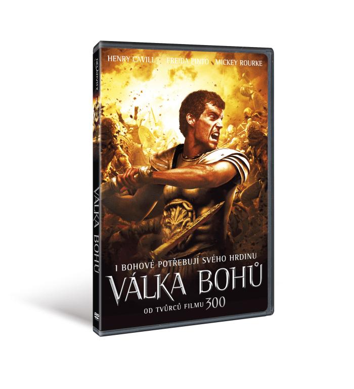 Válka bohů ( plast ) - DVD