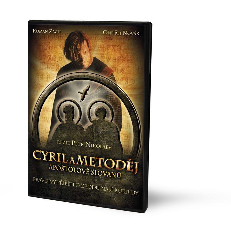 Cyril a Metoděj ( Plast ) - DVD - bazarové zboží