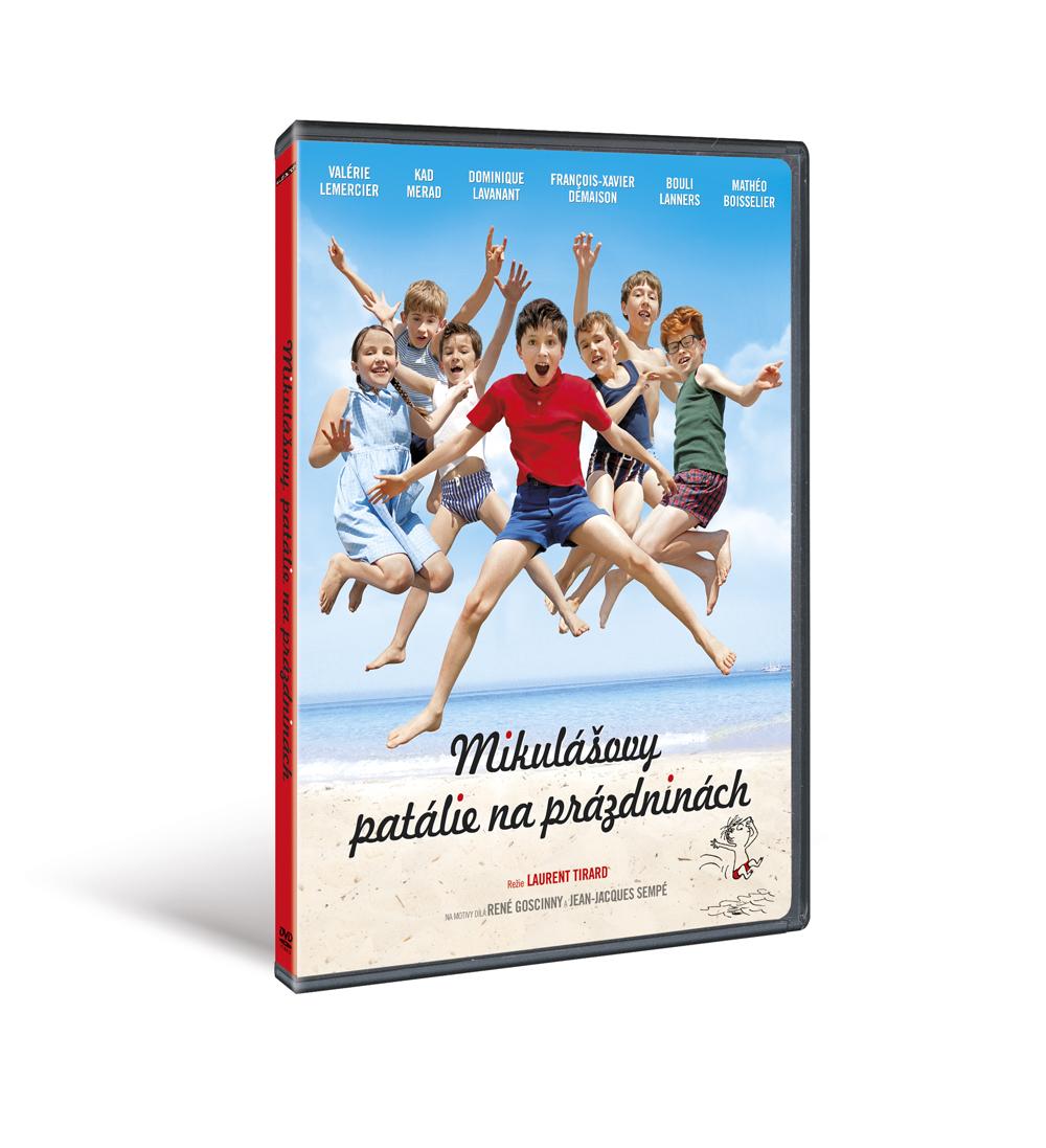 Mikulášovy patálie na prázdninách ( plast ) - DVD