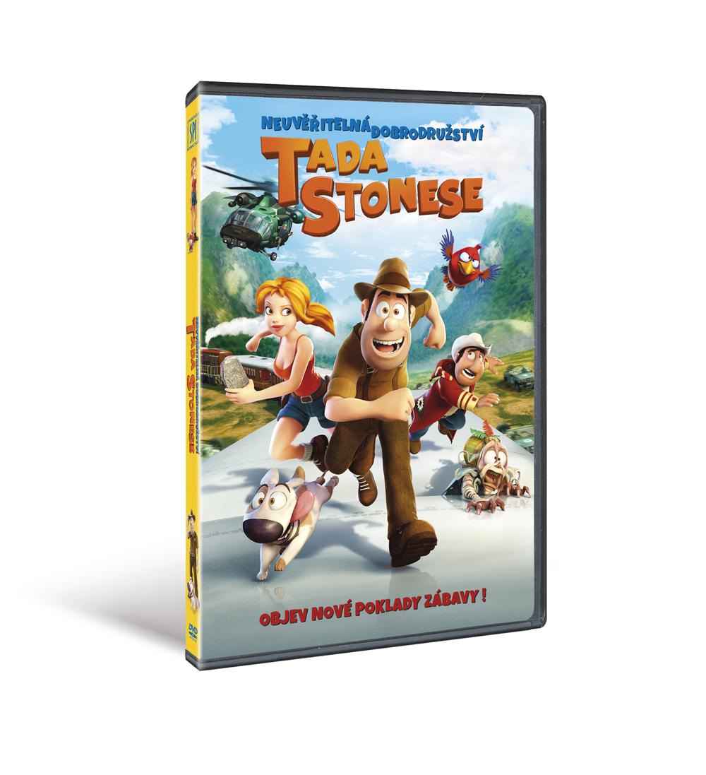 Neuvěřitelná dobrodružství Tada Stonese ( plast ) - DVD