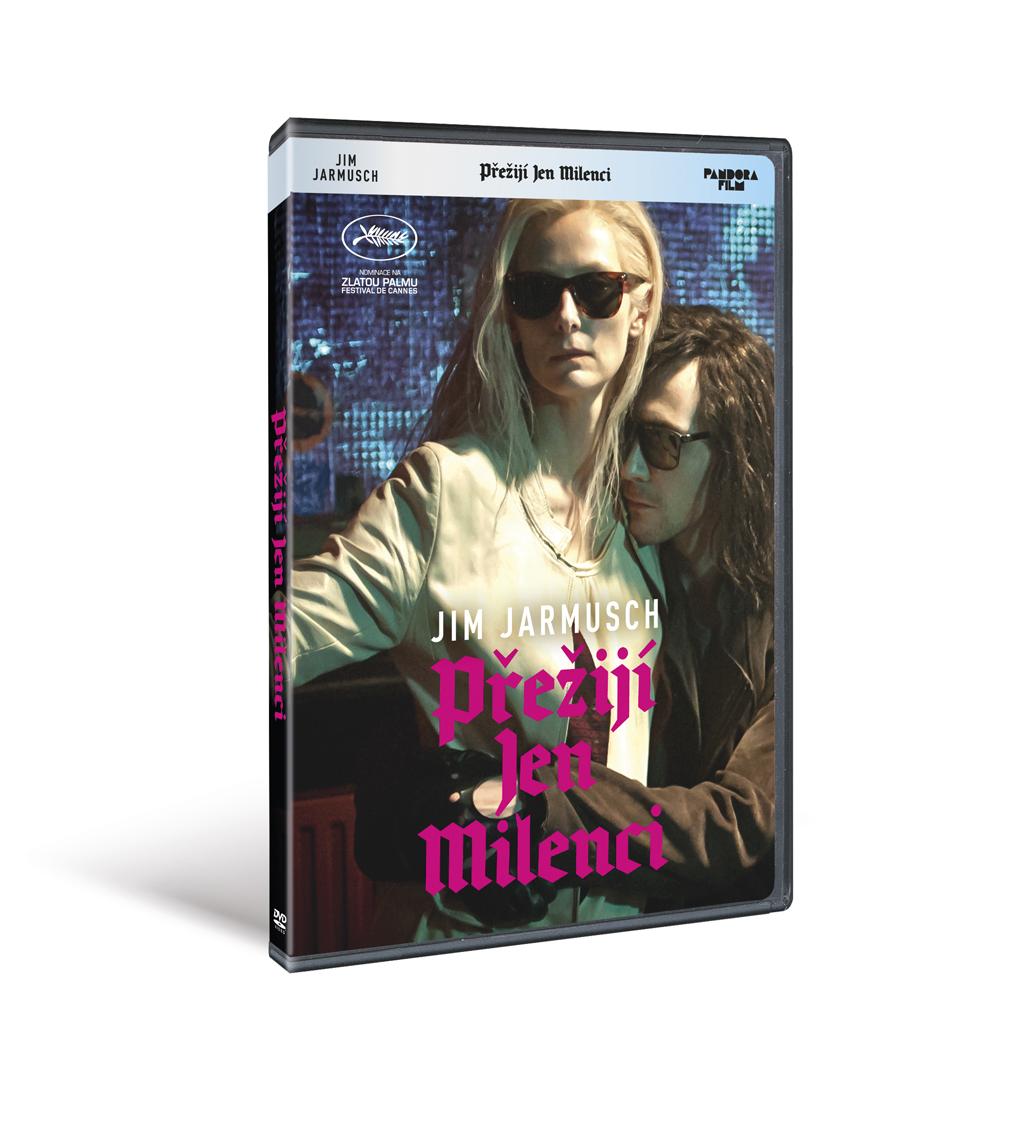 Přežijí jen milenci ( plast ) - DVD